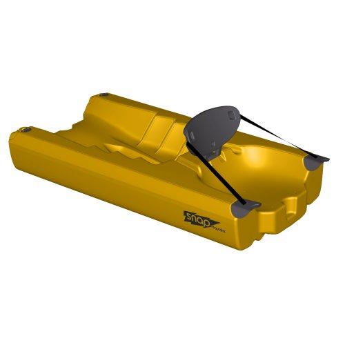 Snap Kayaks USA Modular Sit on Top Kayak (Yellow, Back Piece)
