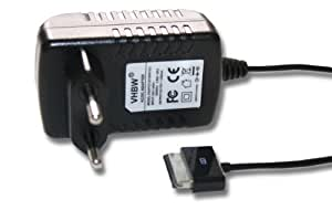 Chargeur avec adaptateur secteur pour Asus EEE Pad Transformer TF101 TF201 TF700 TF700T TF300, Slider SL101, Prime TF201 TF101G TF300T TF700 TF700T