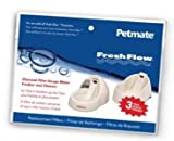 Petmate Fresh Flow Filter Replacement 3 Pack Fits Jumbo and Medium Fresh Flow