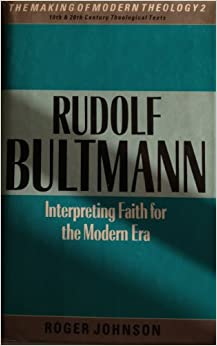 Rudolf bultmann essays philosophical and theological