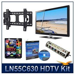 Flat/Tilt Mount for Flat Panel TVs, Calibration DVD (Brings out HDTV's