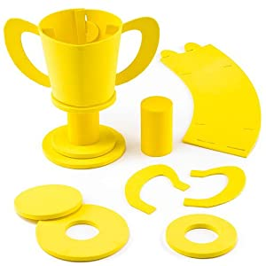 Make Your Own 3d Foam Trophy Kits For Children To Decorate