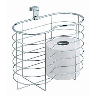 Interdesign 29240 metalo over tank basket toilet tissue holder toilet paper holders - Interdesign toilet paper holder ...