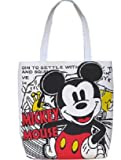 fold folding Canvas Disney Mickey Mouse big happy face handbag purse sack Bag tote 16 42cm middle size #BC25