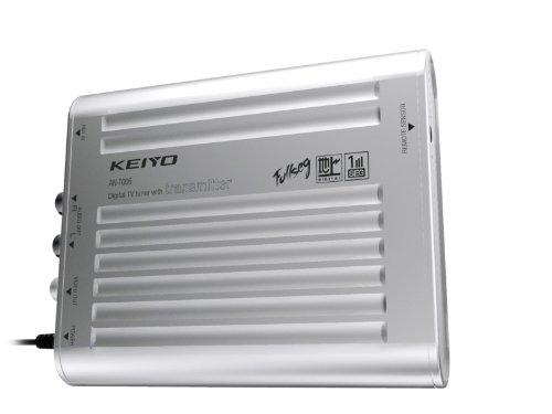 ケイヨウ(KEIYO)ワイヤレス地デジチューナー+フルセグ受信対応ワンセグチューナー+1X1+AN-T006