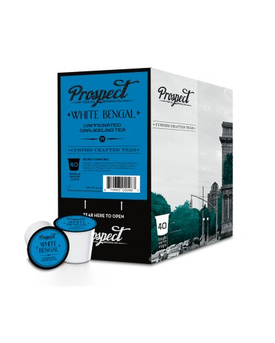 Prospect Tea White Bengal Single Cup Tea for Keurig Brewers, 40 Count (Keurig K Cup Teas White compare prices)