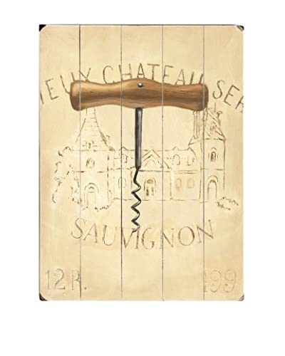 Chateau Nouveau Cork Screw Wood Wall Décor