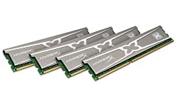 Kingston Technology HyperX Genesis 10th Anniversary Series 16GB Kit (4x4GB) DDR3 2400MHz PC3-19200 CL11 DIMM XMP KHX24C11X3K4/16X