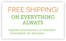 Free Standard Shipping within US  - Everything, No Minimum