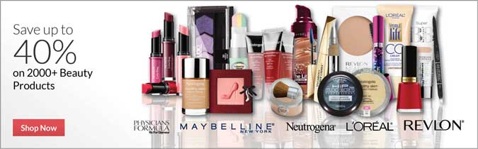 Save up to 40% on 2000+ Beauty Products, Shop Now