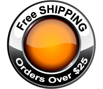 Free Shipping - orders over $25