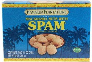 Hamakua Plantations Hawaii Macadamia Nuts with Spam