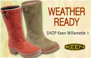 Keen Willamette Waterproof at ShoesCentral.com