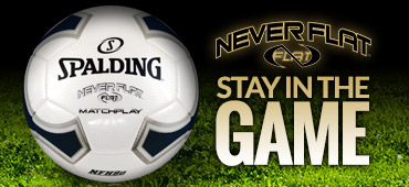 Stay in the game with Spalding Neverflat Balls!