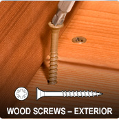 Exterior Wood Screws