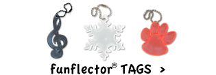 Highly effective safety reflectors for kids, tweens, teens, adults and seniors