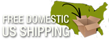 Free Domestic US Shipping