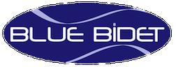blue bidet