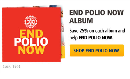 End Polio Now Album