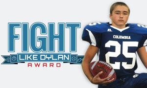 Russell Athletic Fight Like Dylan Award