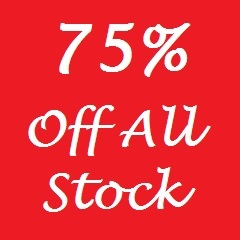 75% off everything