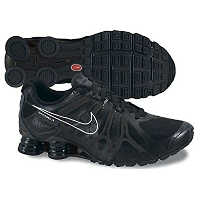 all black mens nike shox