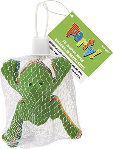 Plastica Henbrandt-Rane che saltano, confezione da 10