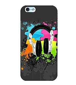 Colourful Graffiti 3D Hard Polycarbonate Designer Back Case Cover for Apple iPhone 6S