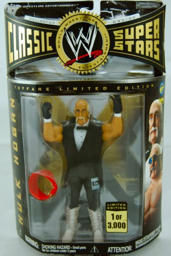 Buy Low Price Jakks Pacific WWE – Hulk Hogan – Limited Edition – 1 of 3000 – Toyfare Exclusive Figure – Rare – Collector Series – Mint – New – Collectible – Out of Production – (L) (B001IVEEDE)