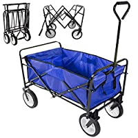 World Pride Folding Utility Wagon Shoppi...