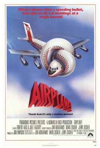 Airplane-Poster-Movie-27x40-Jerry-Zucker-Jim-Abrahams-David-Zucker
