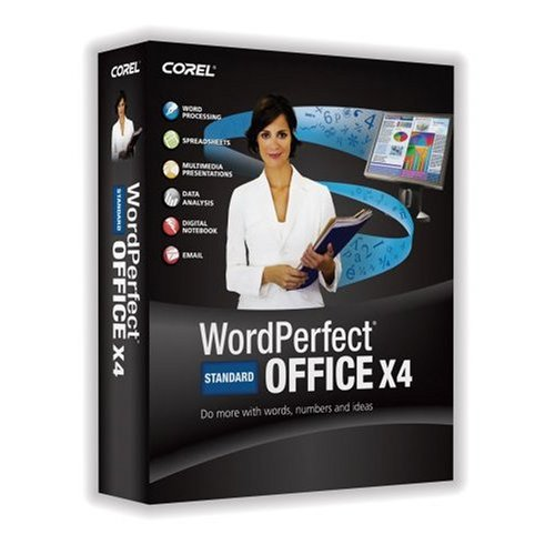 WordPerfect Office X4 Standard Upgrade