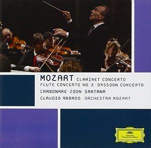 Mozart: Clarinet Concerto; Flûte Concerto No. 2; Bassoon Concerto