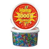 Hama Beads - 3000 Glitter Mix (Midi Beads)by Hama