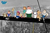 Posters: Family Guy Poster - On A Skyscraper (36 x 24 inches)