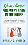 GREEN RECIPES: FOR EVERY ROOM IN THE HOUSE: Simple Homemade Products To Clean, Maintain And Fresh (House Cleaning Secrets)