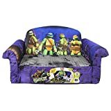 Marshmallow Childrens Furniture - 2 in 1 Flip Open Sofa - Teenage Mutant Ninja Turtles