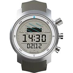 Buy Suunto Mens Elementum Aqua Grey Rubber Watch SS014525000 by Suunto