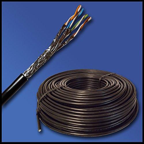manax-draka-cable-de-datos-100-m-toma-de-tierra-cat-7-par-trenzado-apantallado-100-cobre-color-negro