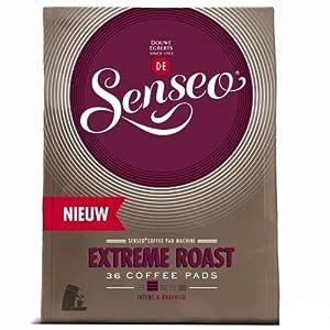 Order Senseo Extreme Roast 36 Pods / pads by Douwe Egberts