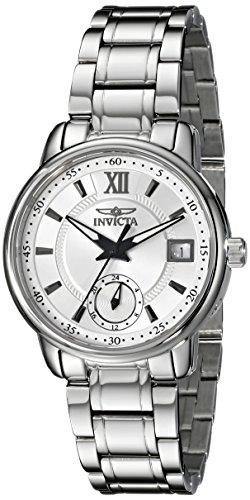 Invicta Women's Specialty 32mm Steel Bracelet & Case S. Sapphire Swiss Quartz Silver-Tone Dial Watch 18010