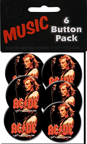 "C&D Visionary AC/DC - Donnington 1.5"" Button (6-Piece) - 1"