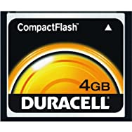 Duracell 4 GB CompactFlash Memory Card-4GB CMP FLSH MEMORY CARD