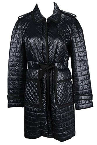 paule-ka-womens-coat-size-8-us-44-it-regular-black-nylon