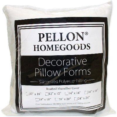 "Pellon PPI24X24 Decorative Pillow Form, 24"" by 24"", White"