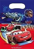 6 Partytüten / Geschenktüten für Kindergeburtstag, Motiv: Disney Cars 2