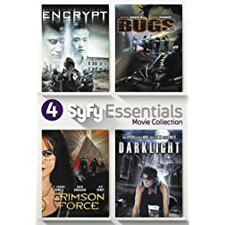 4 Sci-Fi Movies Collection (Encrypt / Bugs / Darklight / Crimson Force)