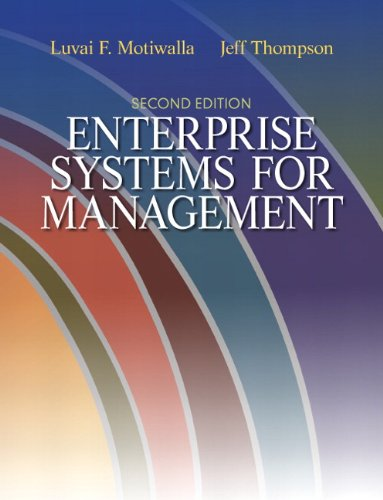 Enterprise Systems for Management (2nd Edition)