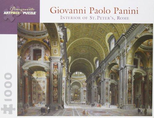 Giovanni Paolo Panini 1000 Piece Puzzle Interior of St. Peter's, Rome