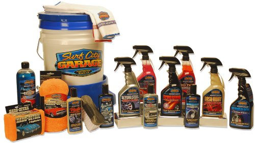 Surf city garage 16 piece pro detailing kit products for for Piece auto garage